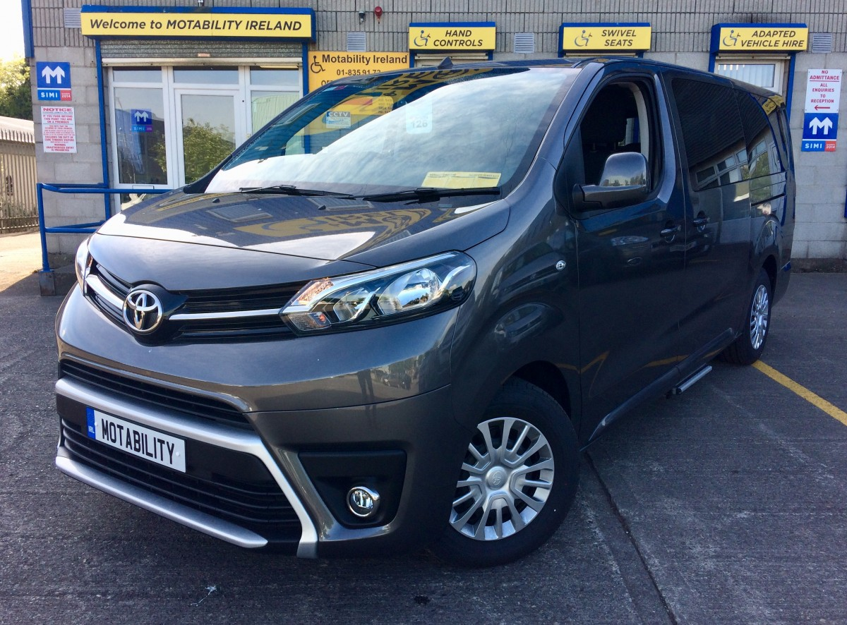 Toyota Proace Long Wheel Base Wheelchair Accessible Taxi